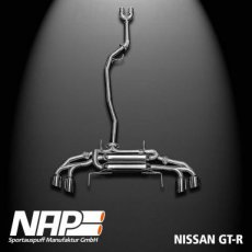 R35 GT-R Exhaust with Automatic Valve ECE